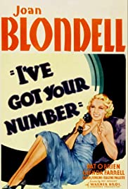 I've Got Your Number (1934) Poster - Movie Forum, Cast, Reviews