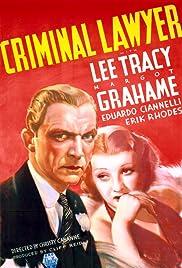Criminal Lawyer Poster