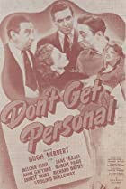 Image of Don't Get Personal