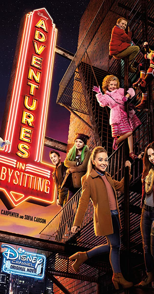 adventures in babysitting tv movie 2016 imdb