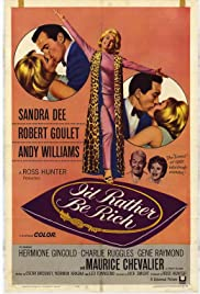 I'd Rather Be Rich (1964) Poster - Movie Forum, Cast, Reviews