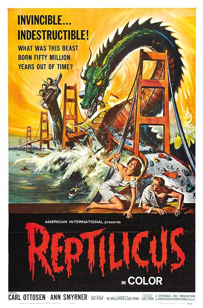 MST3k Premiere Review 1101 Reptilicus The Left Lane
