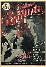 Kultainen kynttilänjalka Poster