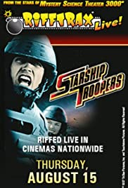 RiffTrax Live: Starship Troopers(2013) Poster - Movie Forum, Cast, Reviews
