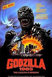 Godzilla 1985 Poster
