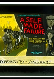 A Self-Made Failure Poster
