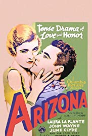 Arizona (1931) Poster - Movie Forum, Cast, Reviews