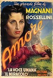 L'amore(1948) Poster - Movie Forum, Cast, Reviews
