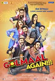 Golmaal Again (2017) Hindi DVDRip 1.5GB AC3 5.1 ESubs MKV