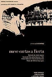 Nueve cartas a Berta Poster