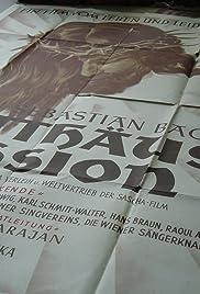 St. Matthew Passion Poster