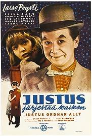 Justus järjestää kaiken Poster