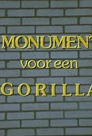 Een monument voor een gorilla Poster