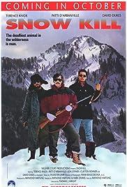 Snow Kill Poster