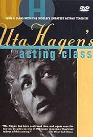 Uta Hagen's Acting Class Poster