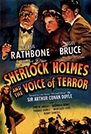 Sherlock Holmes and the Voice of Terror (1942) Poster - Movie Forum, Cast, Reviews