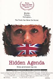 Hidden Agenda (1990) Poster - Movie Forum, Cast, Reviews