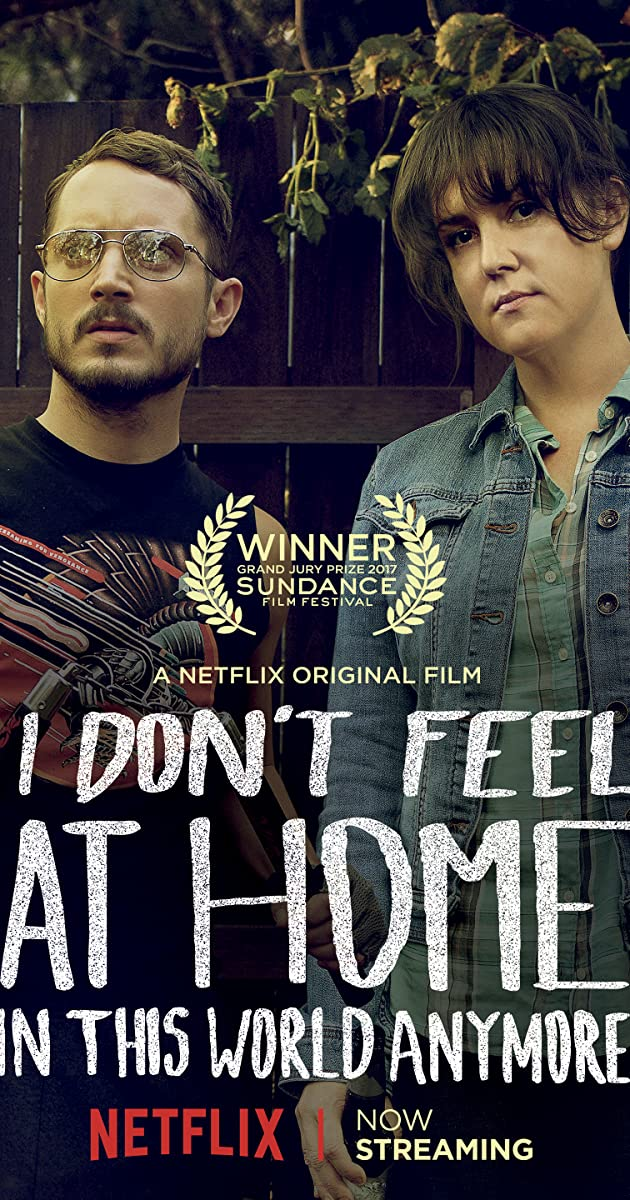 Image result for i don't feel at home in this world anymore movie poster