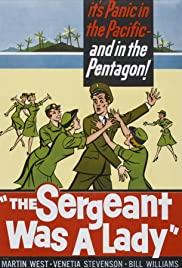 The Sergeant Was a Lady Poster