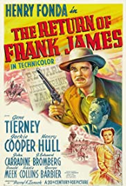 The Return of Frank James (1940) Poster - Movie Forum, Cast, Reviews