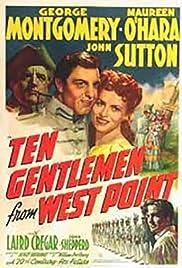 Ten Gentlemen from West Point Poster