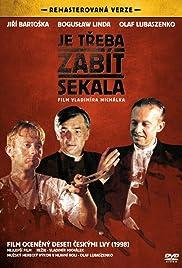 Je treba zabít Sekala(1998) Poster - Movie Forum, Cast, Reviews