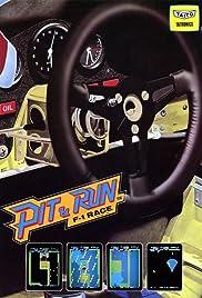 Pit & Run: F-1 Race Poster