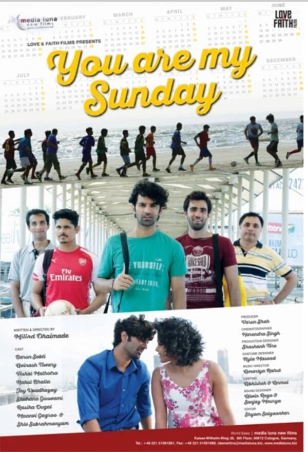 You Are My Sunday 2016 Hindi Movie 920MB