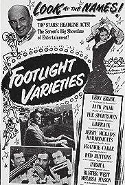 Footlight Varieties Poster