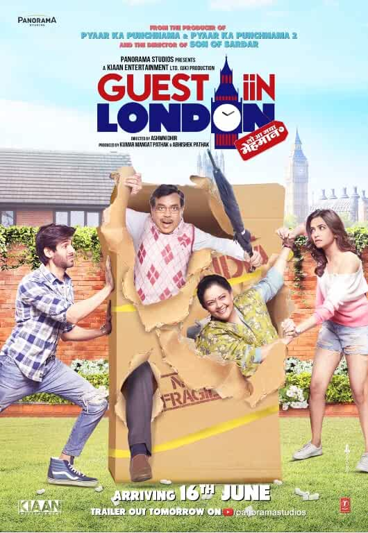 Poster Guest iin London 2017 Full HD Movie Download Free