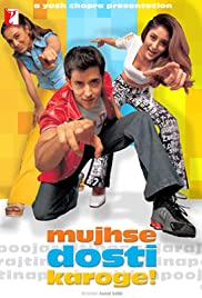 Mujhse Dosti Karoge! (2002) Poster - Movie Forum, Cast, Reviews