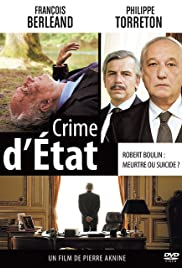 Crime d'État Poster