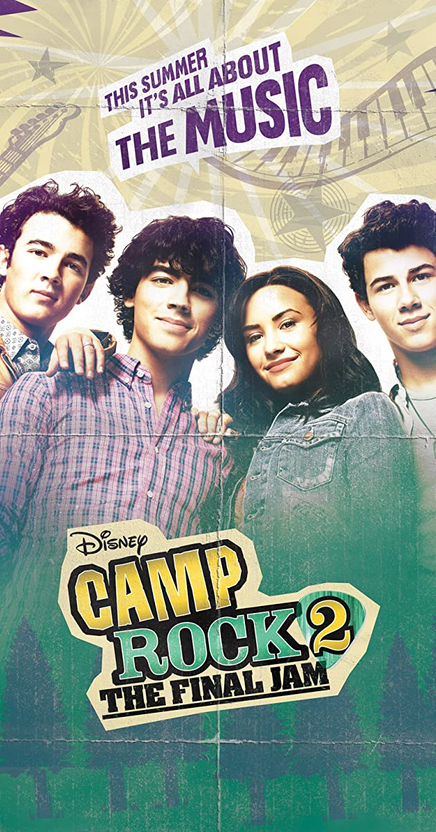camp rock 2 the final jam tv movie 2010 imdb. Black Bedroom Furniture Sets. Home Design Ideas