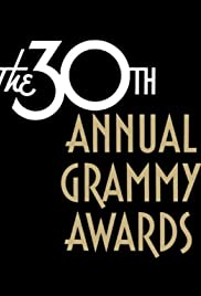 The 30th Annual Grammy Awards Poster