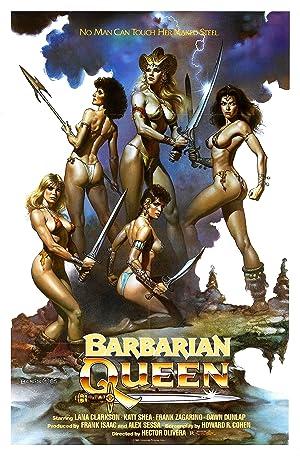 Poster Barbarian Queen
