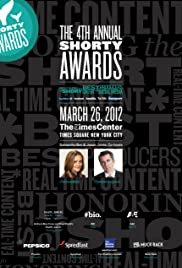 4th Annual Shorty Awards Poster