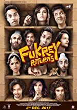 Fukrey Returns Hindi (2017)