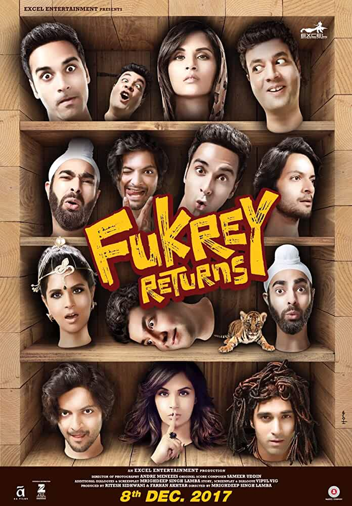 Fukrey Returns 2017 HD Full Movie Official Trailer Watch Online