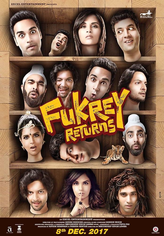 Fukrey Returns (2017) 1CD DesiPre - x264 AAC - DTOne Exclusive