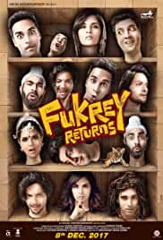 Fukrey Returns 2017 Hindi HDRip 700MB AAC ESubs MKV