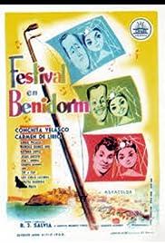 Festival en Benidorm Poster