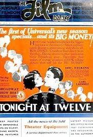 Tonight at Twelve Poster