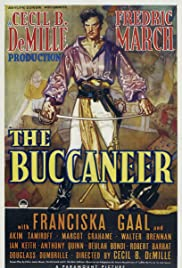 The Buccaneer (1938) Poster - Movie Forum, Cast, Reviews