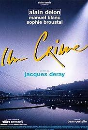 Un crime Poster