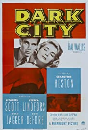 Dark City(1950) Poster - Movie Forum, Cast, Reviews