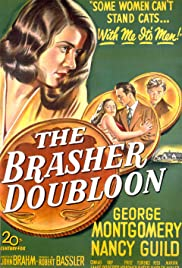 The Brasher Doubloon Poster