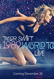 Taylor Swift: The 1989 World Tour Live Poster