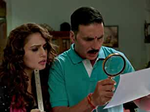 Akshay Kumar and Huma Qureshi in Jolly LLB 2 (2017)