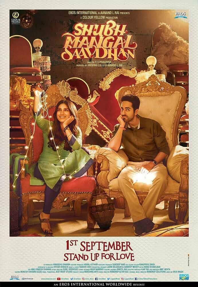 Shubh Mangal Saavdhan 2017 Hindi 720p WEB-DL full movie watch online freee download at movies365.ws