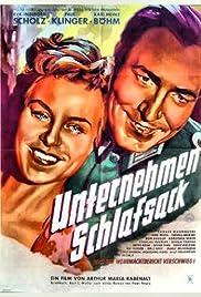 Unternehmen Schlafsack Poster